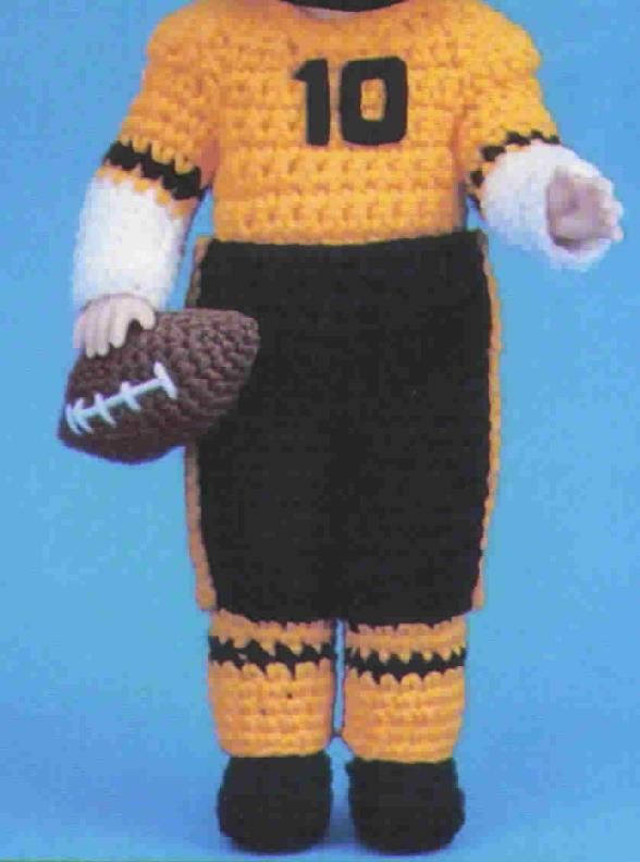 TD Creations Crochet Thomas, Collectable Doll Series