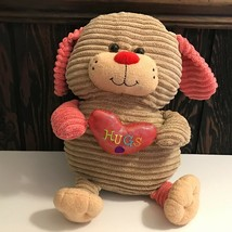 """Animal Adventure 2015 Valentine Hugs Dog 16"""" Plush Stuffed Animal - $17.81"""