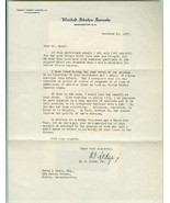 U. S. Senator HENRY CABOT LODGE, Jr.  Signed 19... - $10.00