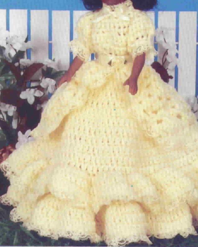 TD Creations Miss Crystal Crochet Musical Fragrance Doll