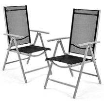 Set of 2 Patio Folding Chairs - £93.46 GBP