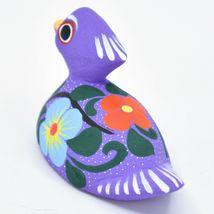 Handmade Alebrijes Oaxacan Copal Wood Carving Folk Art Duck Figurine image 3
