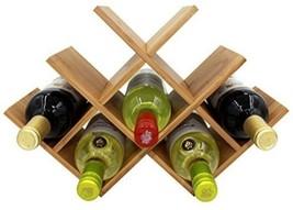 Wine Rack 8 Bottles Kitchen Living Room Home Mo... - $27.84