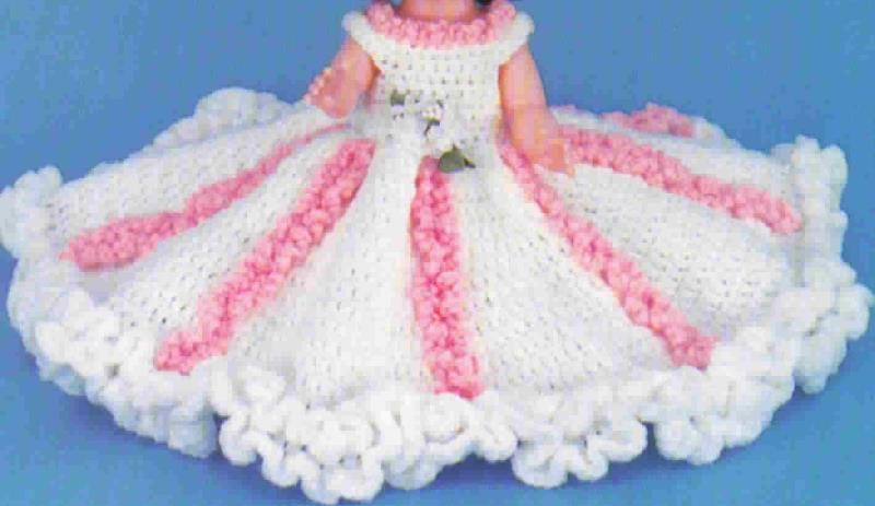 TD Creations Crochet Bed Doll Jill, Collectable Doll Series