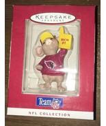 "1996 Hallmark Ornament Team NFL Arizona Cardinals Mouse ""We're #1"" NEW 3... - $15.84"
