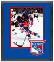 "Derek Stepan 2013-2014 New York Rangers - 11"" x 14"" Matted/Framed Photo - $42.95"