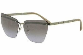Versace Sunglasses VE2190 142694 Gold w/ Violet/Silver Gradient/Mirrored Lens - $146.70