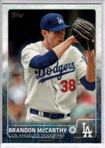 2015 Topps #431 Brandon McCarthy NM-MT Dodgers - $0.75