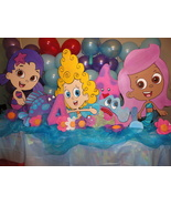 3 feet Bubble Guppies Birthday Party  Photo Props Standees - $49.99