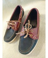 Sebago Docksides Women's Classic 2-Eye Leather Boat Shoes Slip On Casual... - $19.75