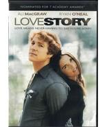 Love Story DVD 2013 Ryan O'Neal Ali Macgraw Director: Arthur Hiller - $5.93