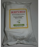 Burt's Bees Face Cleansing Towelettes Wipe Cotton Extract Sensitive Skin... - $26.17