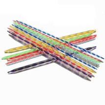 Knitting Wool Tools Double Pointed Needles Plastic Acrylic Crystal Yarn ... - $10.19
