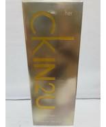 CK in 2U edt spray 3.4oz/100ml by Calvin Klein for women. new in box. - $32.71