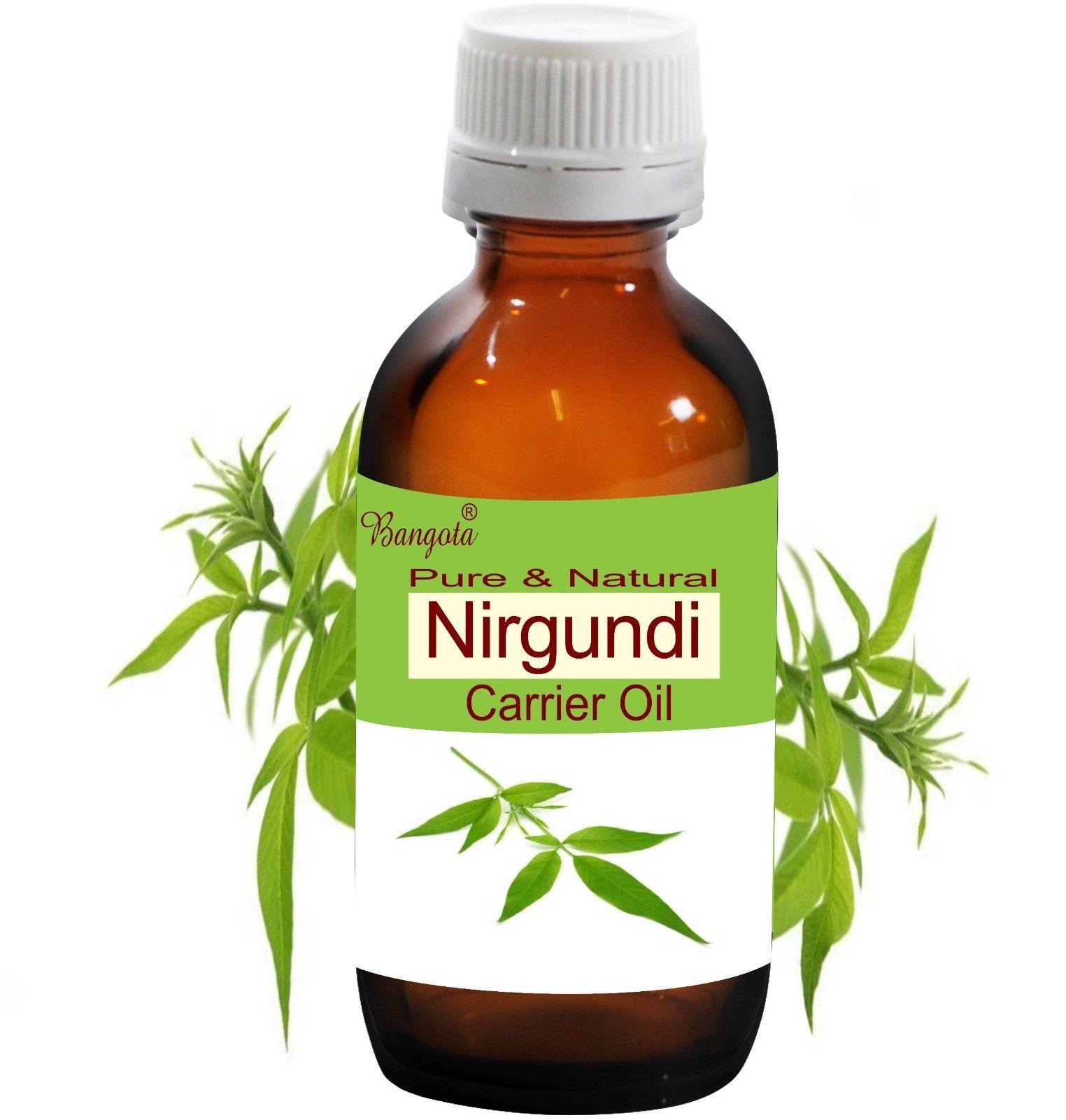 Primary image for Nirgundi Oil- Pure & Natural Carrier Oil - 5 ml -250 ml Vitex Negundo by Bangota
