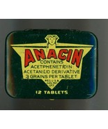 vintage Anacin advertising pocket tin medicine medicine - $6.50