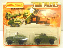 Vintage 1975 Lesney TP-13 Military Scout & Armored Car Die-Cast New On Card - $28.04