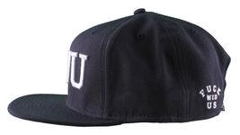 Crooks & Castles F.W.U Fu*k with Us Dark Navy Snapback Baseball Hat NWT image 5