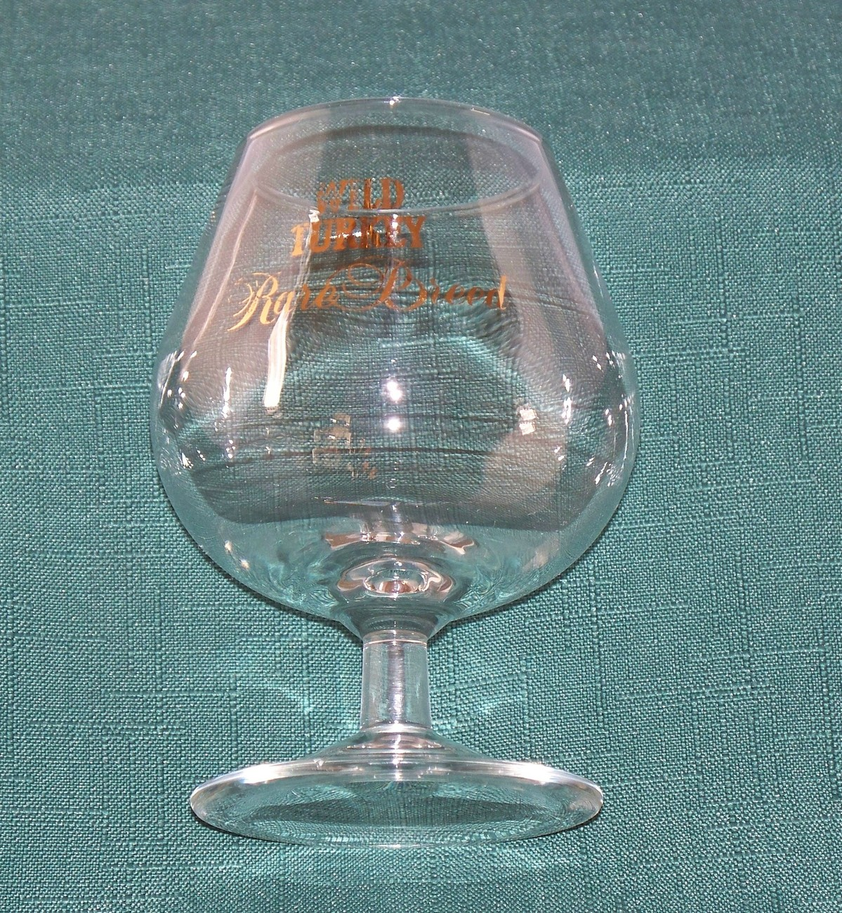 Wild Turkey Rare Breed Snifter Glass Good Condition