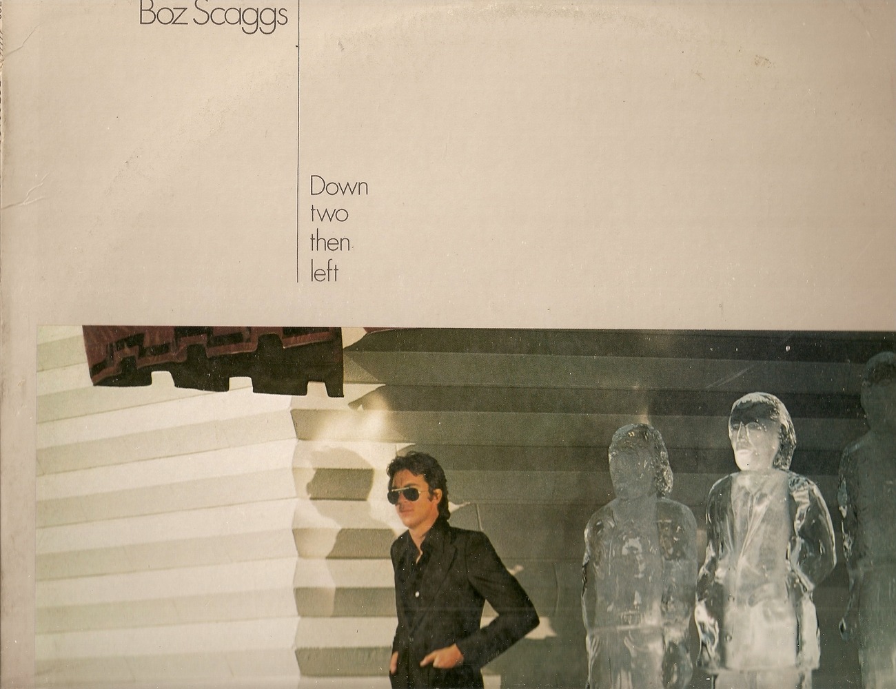lp--Boz Scaggs 	-	 Down Two Then Left