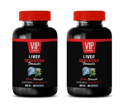 liver detox supplement, Liver Detoxifier Formula 825mg, healthy gut flor... - $29.88