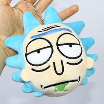 Rick and Morty Stuffed Plush Rick Plush Keychain toy High Quality Rick a... - $6.99