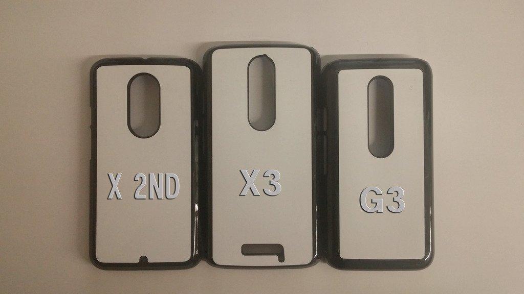 Air Force Motorola Moto G3 case Customized premium plastic phone case, design #1