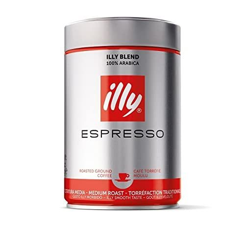 illy Espresso Medium Roast Ground Coffee, 250g  - $20.00