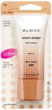 Almay Smart Shade Makeup, Light / Medium (200) - $23.24