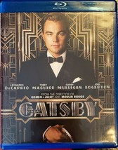 The Great Gatsby Blu-ray Disc, 2013 - Excellent condition! - $7.91