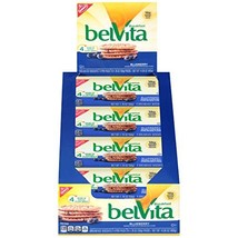 belVita Breakfast Biscuits, Blueberry Flavor, 8 Packs 4 Biscuits Per Pack