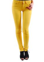 Joe's Jeans Women's Skinny Fit The Chelsea Jeans LFDY5252 Gold Size W27 ... - $58.40