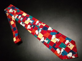 Peanuts Neck Tie Puppy Love Snoopy in Love Woodstock Hearts Love Letters Sigh - $10.99