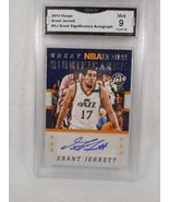 2015 Hoops #GS-GJ Grant Jerrett Great Significance Auto GMA Graded 9  - $7.87