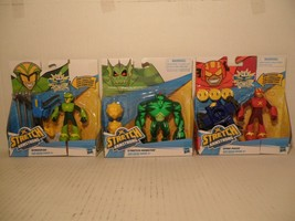 Lot of 3 STRETCH ARMSTRONG Wingspan, Stretch Monster & Omni-mass Hasbro ... - $38.50
