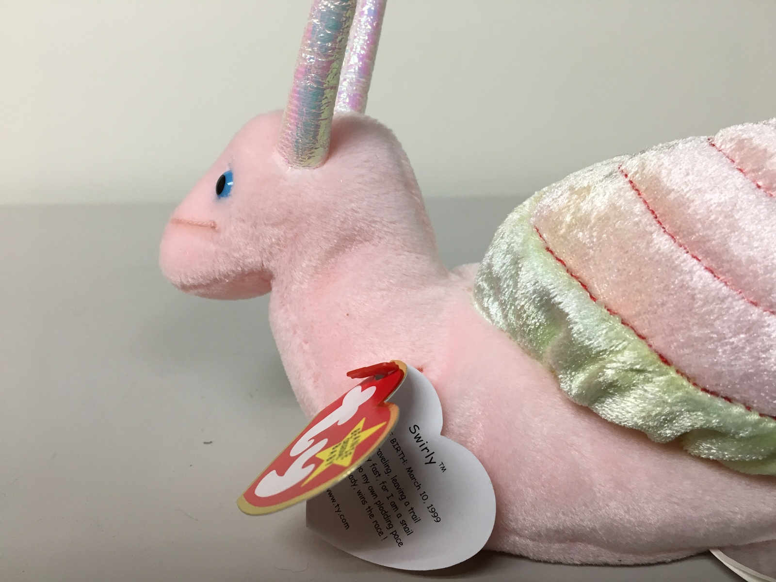 Ty Beanie Babies - Swirly the Snail image 12