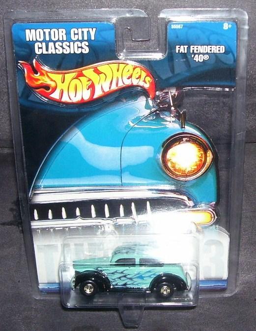 Hot wheels motor city classics fat fendered 40