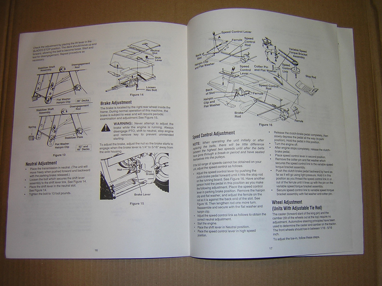 yard machine lawn tractor manual
