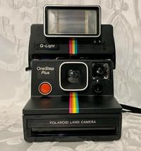 Polaroid One Step Plus Q Light Instant Land Film Camera Nice Shape - $35.99