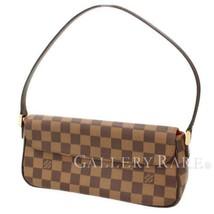Louis Vuitton Recoleta Damier Canvas Ebene N51299 Handbag Authentic 4915089 - $507.69