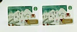 Starbucks Coffee 2015 Gift Card Ski Resort Skiing Snow Zero Balance Set ... - $11.27