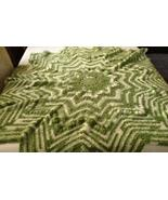 Crocheted puffy round ripple star shaped baby afghan/blanket - $50.00