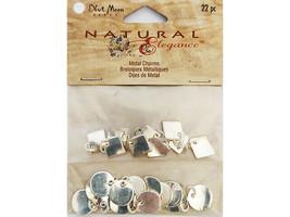 Blue Moon Beads Natural Elegance Metal Charms #BM10025-PE-003