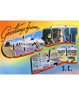 Greetings From Crescent Beach, South Carolina - 1930's - Vintage Postcar... - $9.99+