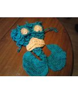 Hand crocheted mermaid cocoon/photography prop for baby/infant/newborn - $45.00