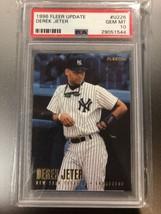 Derek Jeter 1996 Fleer Update Rookie #U226 Psa 10 Gem Mint Pop 73 Rare Yankees - $196.00