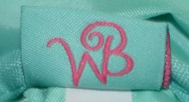 WB Brand Cosmetic Bag M715parker Polyester Zipper Closure image 4