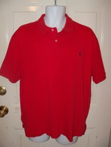 Polo By Ralph Lauren Red Size Large Men's Euc Free Usa Shipping - $18.25