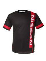 Nissan Black Short Sleeve Cool T Shirt Auto Car Graphics Tee - $24.75