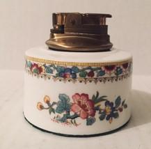 Coalport Bone China Ming Rose England Hong Kong Lighter Vintage - $45.53